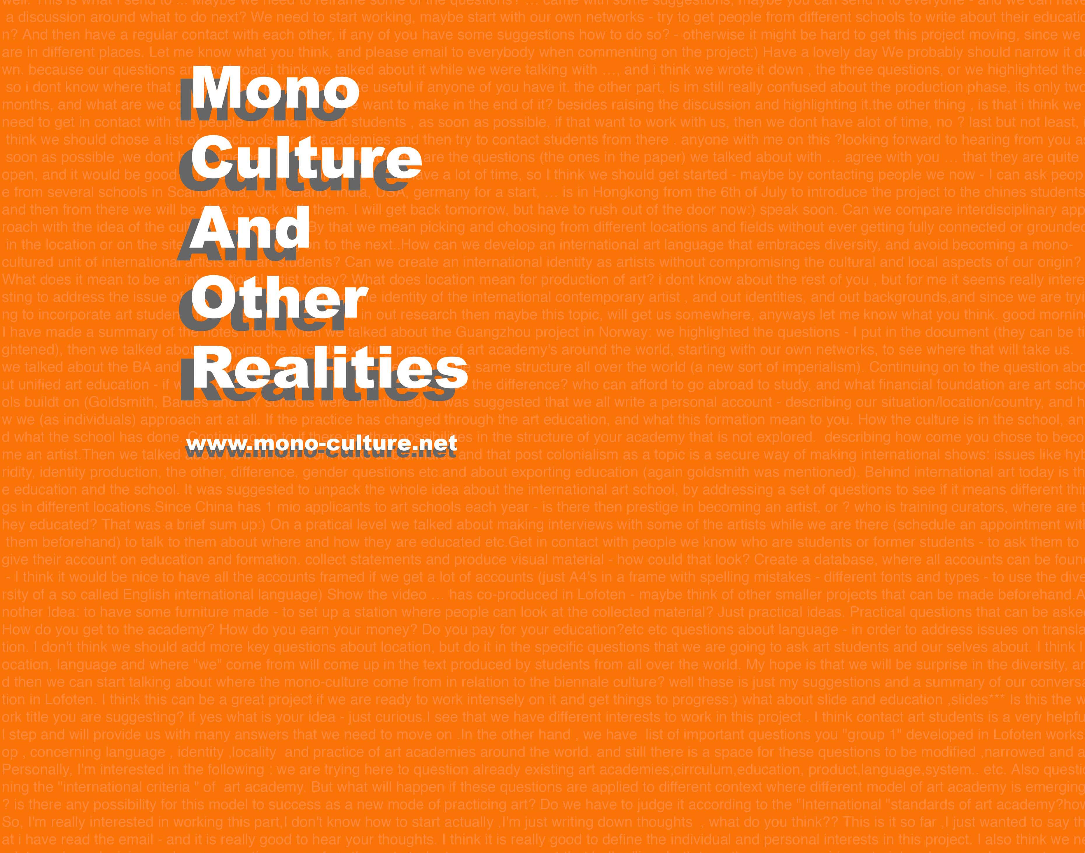 Poster Monoculture jpeg